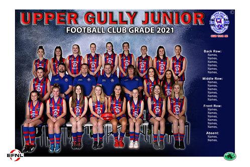 Upper Gully FC Team Photo