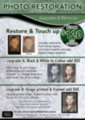 Photo Restoration & Touch Ups A4 flyer.j