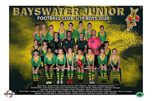 Bayswater Football Club Team Photo