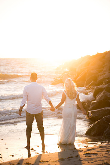 sunrise miami beach wedding portrait bride and groom photography by villas channel photo