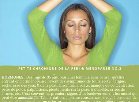 Petite chronique - Les hormones