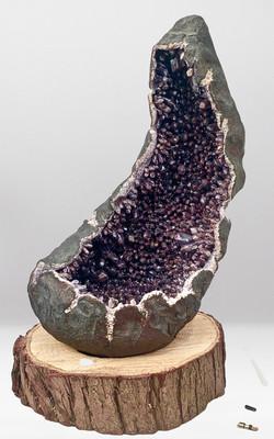 Natural Amethyst Geode