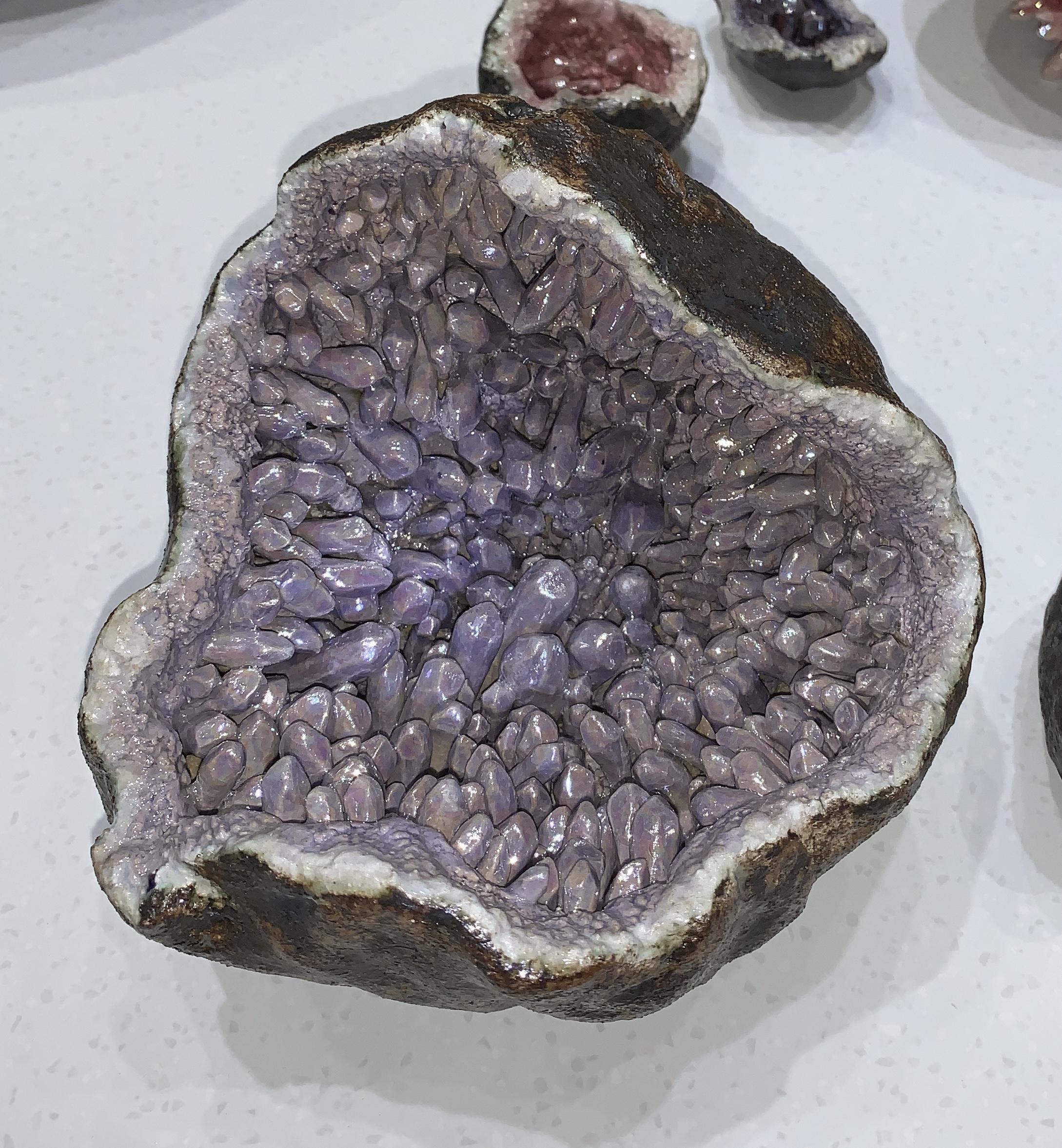 Natural Geode form
