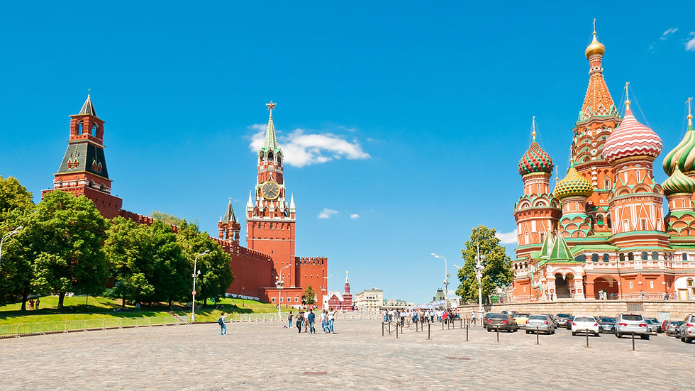 Russia Package -3 Night Moscow and 2 Night St. Petersburg- EX DELHI