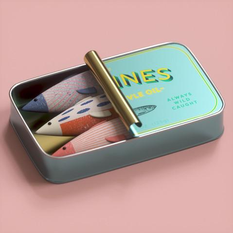 Wes Anderson Sardines