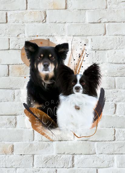 Alyssa Sutton _ Custom Pet Portrait _ Dakota & Rocket.jpg