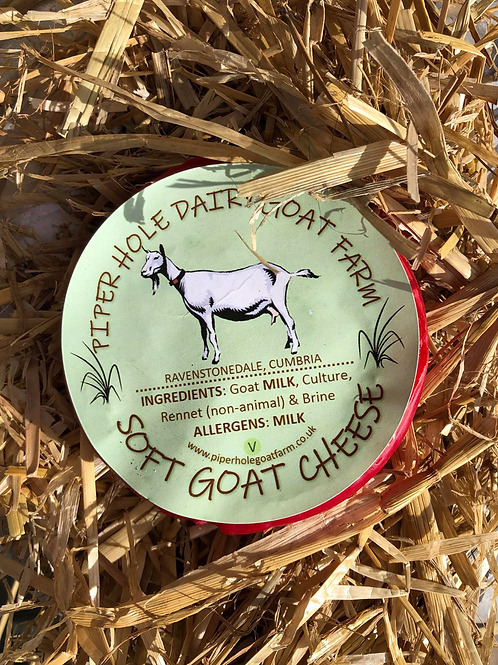 Soft Goats Milk Cheese (Wax Sealed) 100g