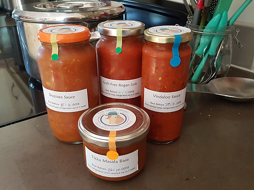 Home Made Cooking Sauces