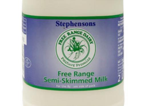 Fresh Semi-Skimmed Milk (2ltr)