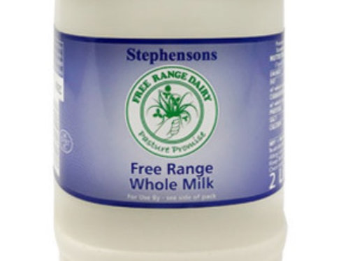Full Fat Fresh Milk (2ltr)