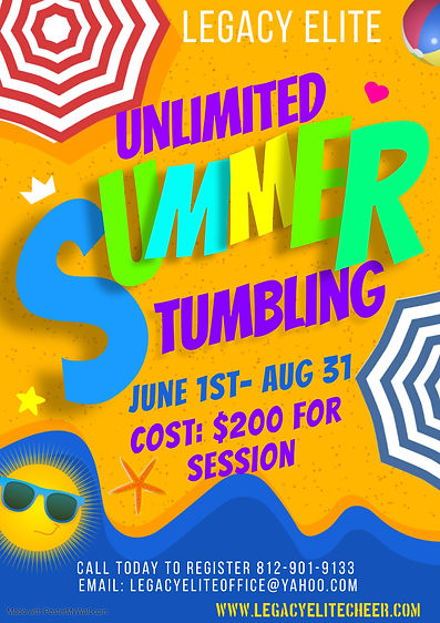 Copy of SUMMER PARTY POSTER - Made with