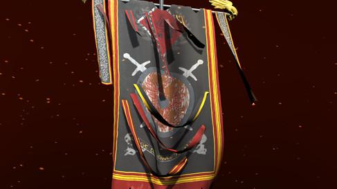 Vertex animated banner