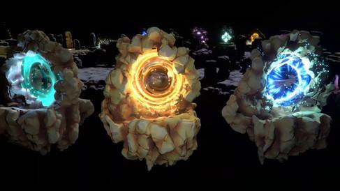 21 portal effects Unity