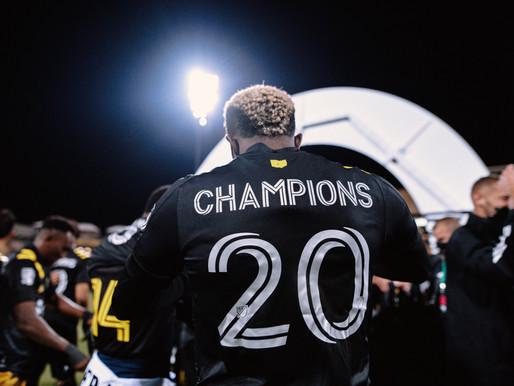 Le Crew champions MLS 2020