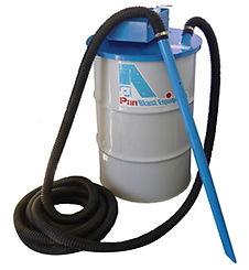vacuum pneumatic for blasting machine