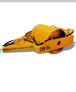 rolo compactador vibratório rebocavel da cmv