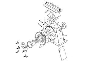 Blast wheel: straight pallet x curve pallet