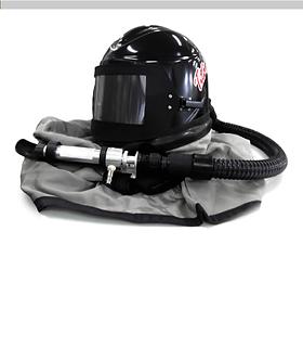capacete para jateamento