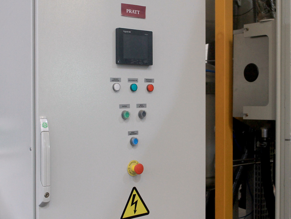 The panel command makes an automatically selection of the abrasive