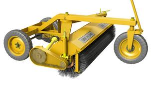 O que é e para que serve uma vassoura mecânica rebocável?