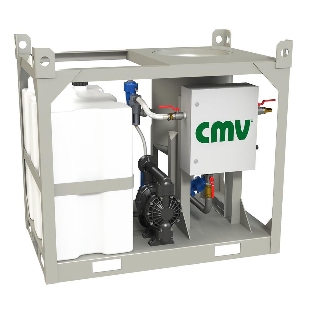 máquina de jato úmido portátil da CMV