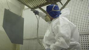 Preparação de superfícies metálicas para pintura
