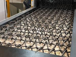 esteira de arame para maquinas de jateamento