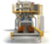 cmv blasting - roller conveyor shot blas