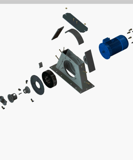 turbina para jateamento cmv