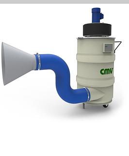 cmv blasting - welding fume collector.pn