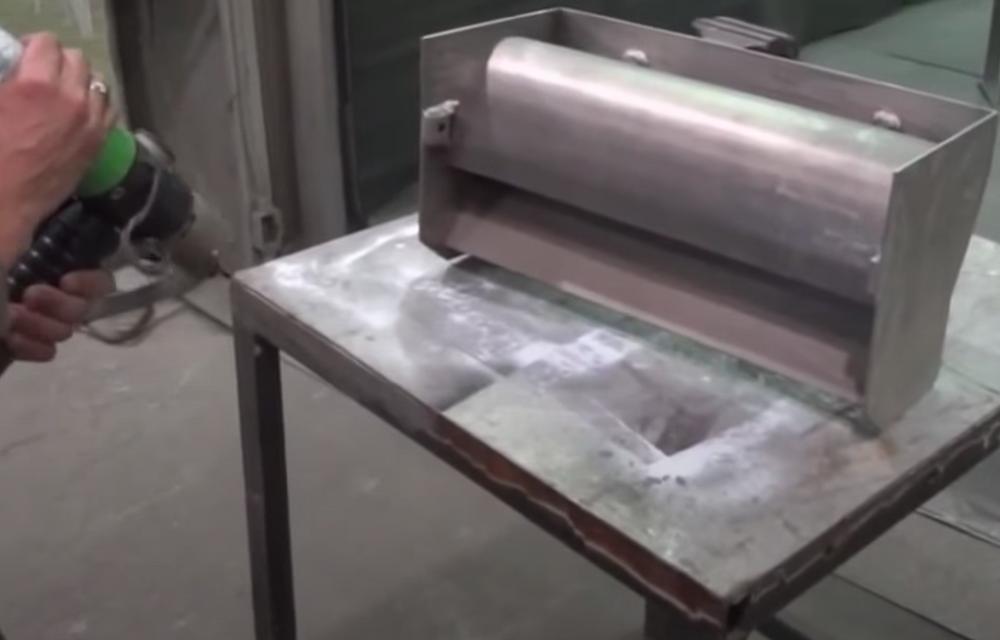 equipamento para metalizacao