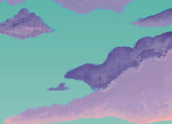 Aqua afterglow