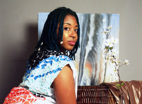 Black Girls Who Paint: Mahyue Magazine feature.