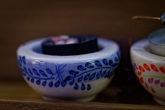 Bruciaincenso ceramica
