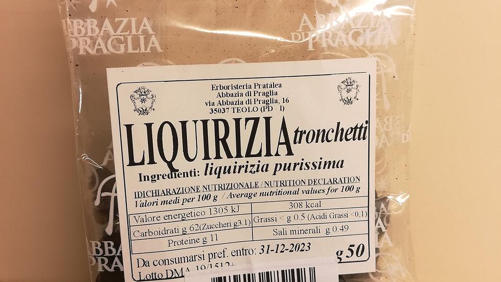 Liquirizia purissima tronchetti (50g)