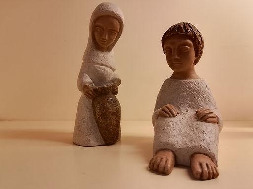 Gesù e la Samaritana al pozzo