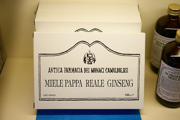 Miele, Pappa Reale & Ginseng -12 fiale (120ml tot.