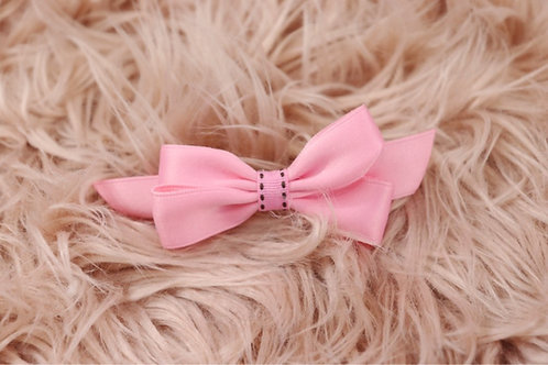 Pink Silky Bow