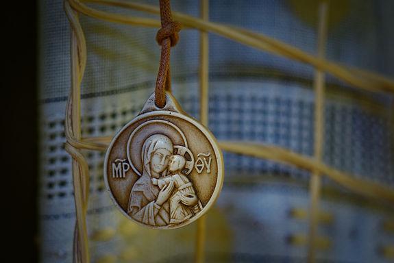Madonna della Tenerezza (al collo) (3,5cm)