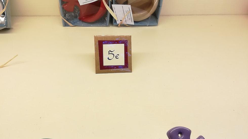 Acquasantiere colorato (ceramica)