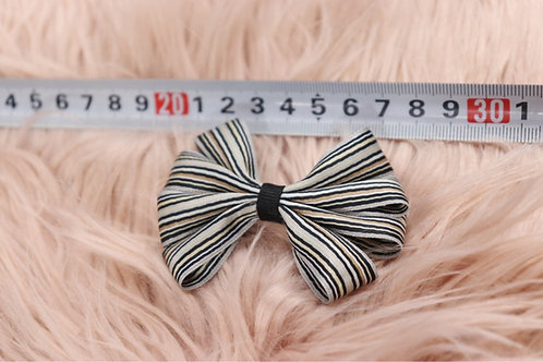 Striped Loopy Bow