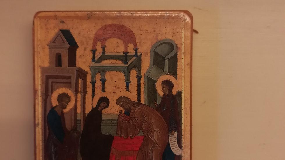 Icona Presentazione del Signore al Tempio