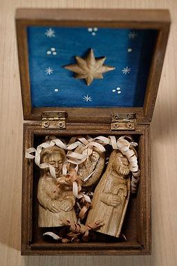 Natività in legno