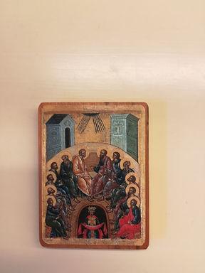 Icona Pentecoste (8 x 6cm)