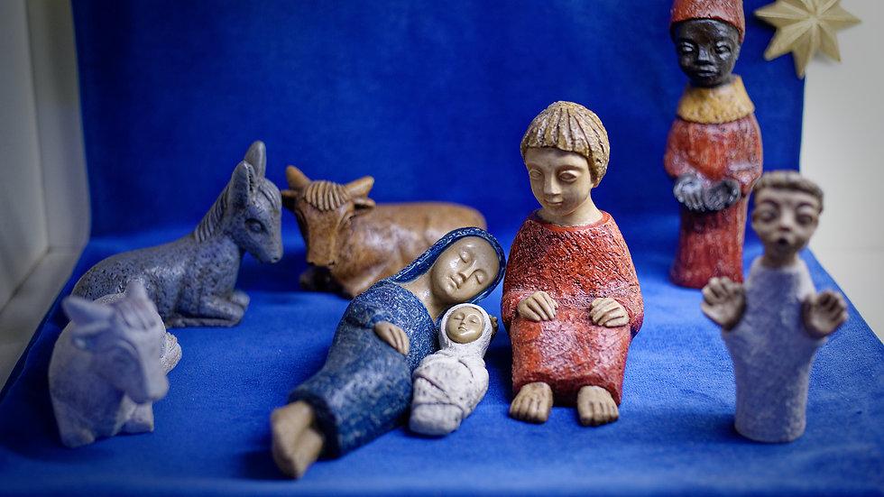 Presepe Betlemme (6-18cm)