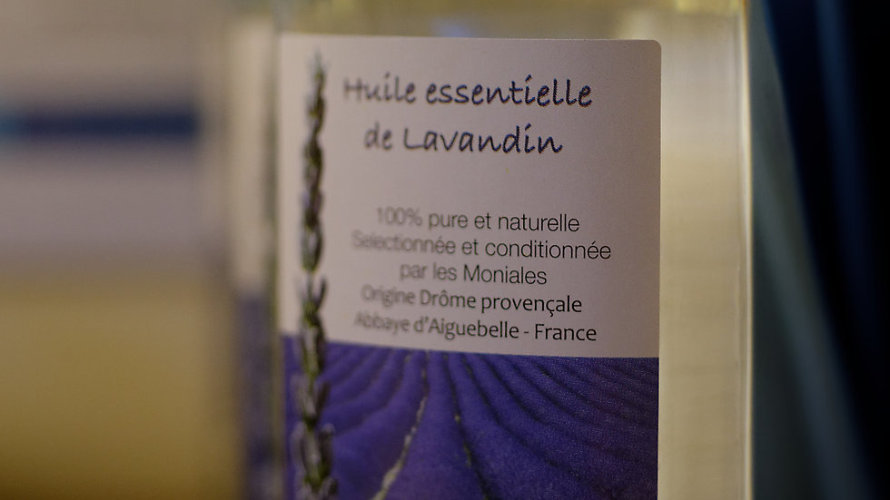 Olio essenziale di Lavanda (100ml)
