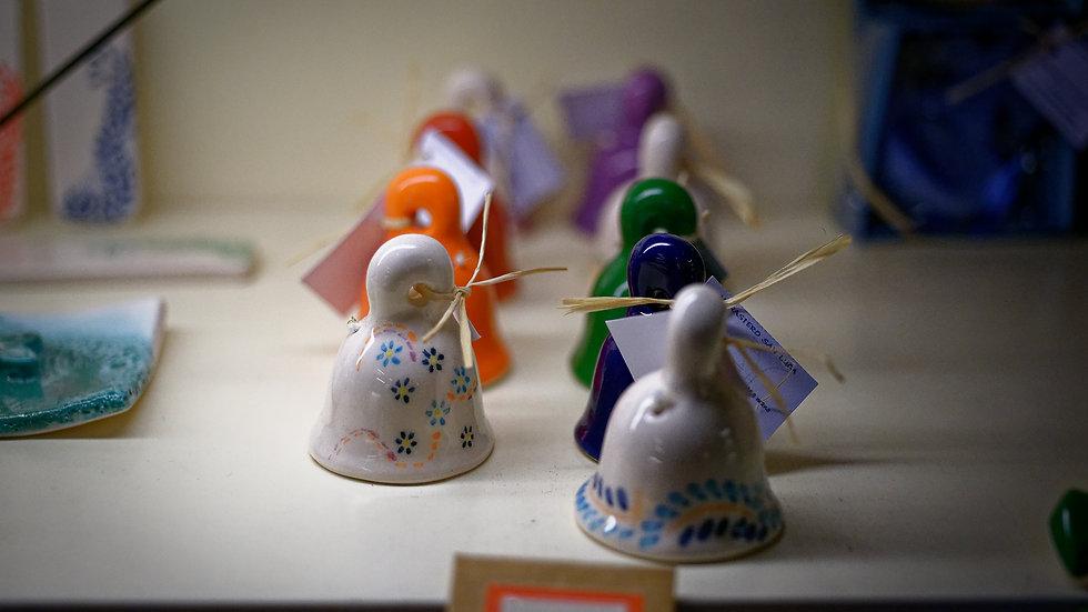 Campanelle colorate (ceramica)