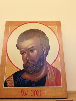Icona san Giuseppe (18,6 x 14,7cm)