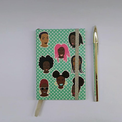 """Beauties"" Hardcover Unlined Notebook - Various Sizes"