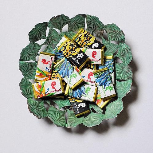 Askanya Chocolate: Sample Pack (Pack of 4 Bite Sized Chocolates)